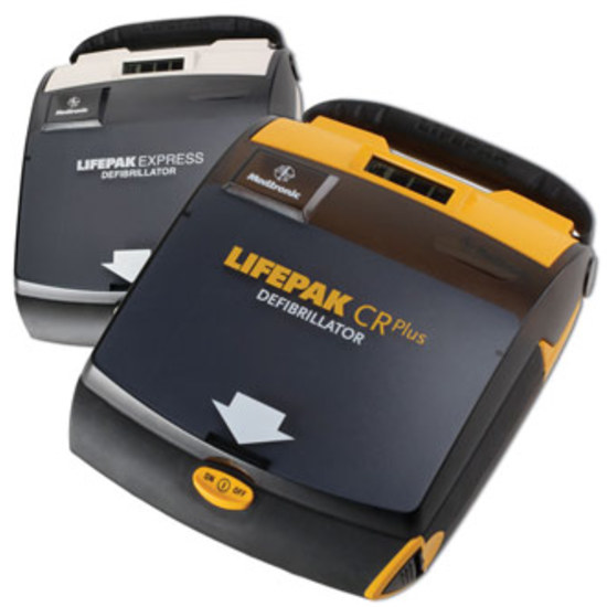 LIFEPAK CR Plus - автоматический наружный дефибриллятор (АНД)